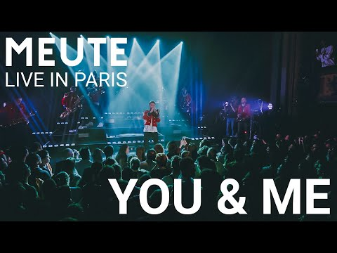 MEUTE - You & Me (Flume Remix) - Live in Paris