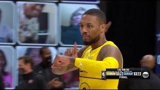 Damian Lillard Hits Game-Winner For Team LeBron To Win 2021 NBA All-Star Game