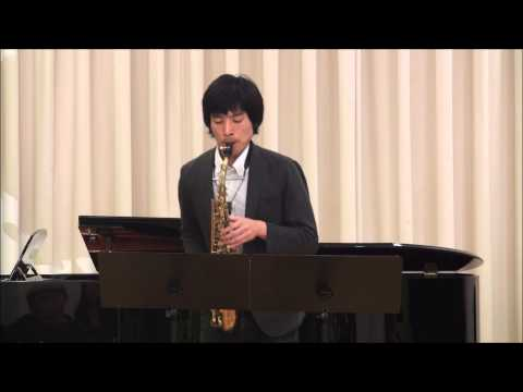 Sonate pour saxophone alto seul - Jeanine Rueff