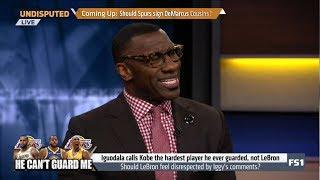 UNDISPUTED | Shannon on Iguodala calls Kobe the hardest player he ever guarded, not LeBron