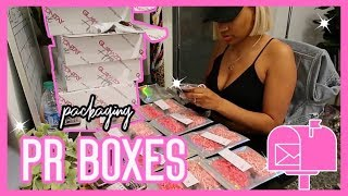 MAKING PR  BOXES , Wholesale District, PACKAGING ORDERS! | VLOG