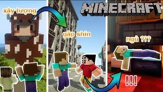 Một ngày của Noob!?! l Minecraft một ngày