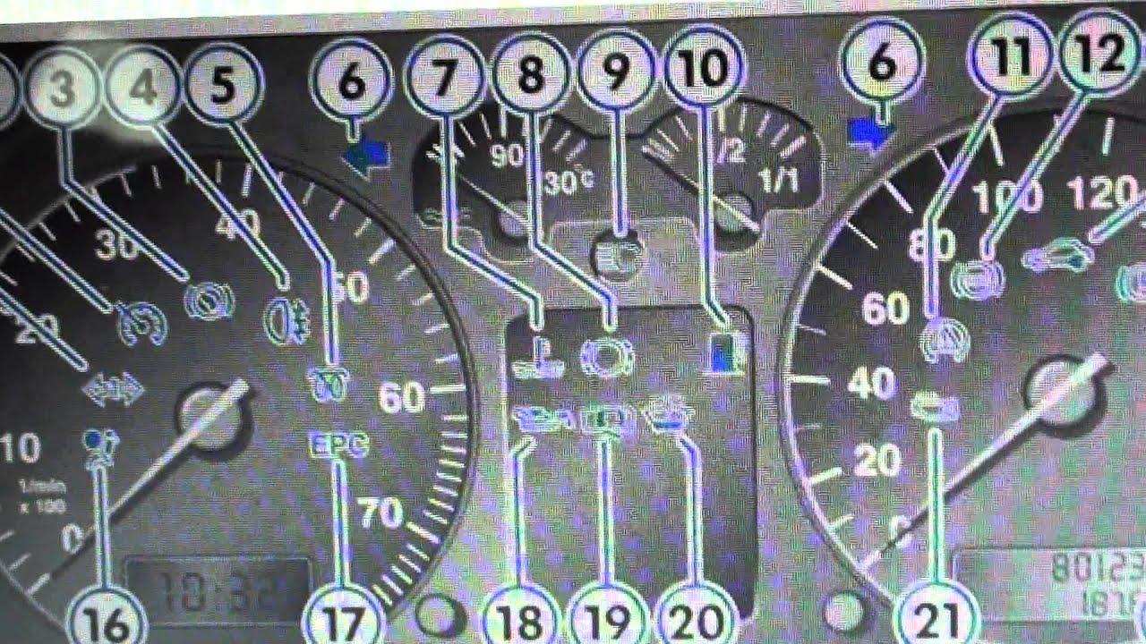 Vw Golf Mk4 Dash Warning Lights Amp Symbols What They Mean