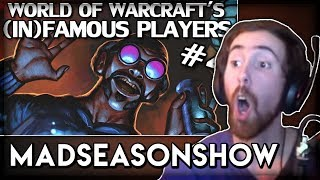 """Asmongold Reacts to """"World of Warcraft's Most Famous & Infamous Players Part 4"""" by MadSeasonShow"""