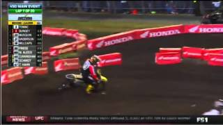 2016 AMA Supercross rd9 450 Main Event (Full Race)