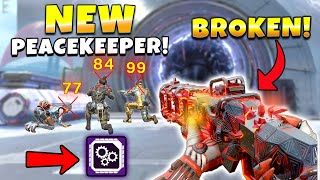 *NEW* THEY BUFFED THE PEACEKEEPER IN LEGACY! - NEW Apex Legends Funny & Epic Moments #633