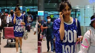 Adah Sharma EXCLUSIVE visuals at Hyderabad Airport..