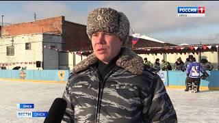 В омской исправительной колонии №3 состоялось открытие хоккейного сезона