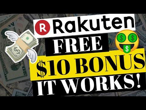 EBATES (RAKUTEN) - DOES IT REALLY WORK? $10 SIGN UP BONUS IN VIDEO!
