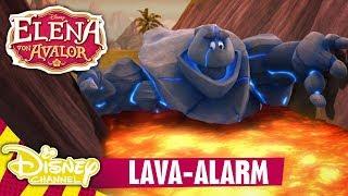 ELENA VON AVALOR - Clip: Lava-Alarm   Disney Channel