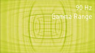 Pure 90 Hz Gamma Range Binaural Beats [30 min]