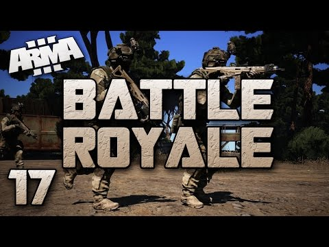 Stretched Neck Glitch & Rock Suicides! (ARMA 3 Battle Royale #17)