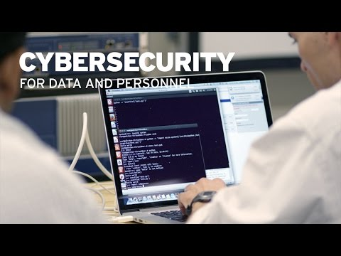 Cybersecurity for Data and Personnel