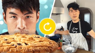 The Try Guys RETRY Baking Pies Without A Recipe