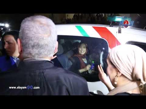 """حصري أجواء ساخنة بعد إحضار """"عفاف برناني"""" بالقوة من طرف الشرطة"""