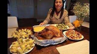 Happy ThanksGiving ! ăn gà tây ! BIG TURKEY