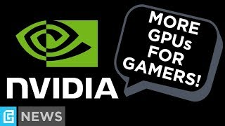 GPU Prices & Shortages Fixed Soon… Thanks To Nvidia?