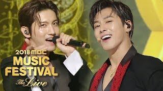 TVXQ - Intro(Drop) + Mirotic + The Chance of Love [2018 MBC Music Festival]