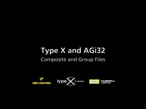 03 Composite and Group Files — Type X / AGi32 Tutorial