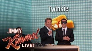 Gordon Ramsay Gives Jimmy Kimmel a Blind Taste Test
