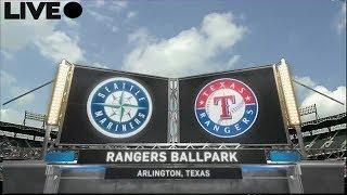Live : Texas Rangers vs Seattle Mariners 6/16/2017