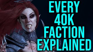 Every single Warhammer 40k (WH40k) Faction Explained | Part 2