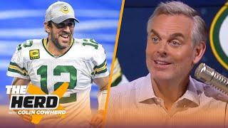 I believe Aaron Rodgers has misjudged his popularity in Green Bay — Colin | NFL | THE HERD