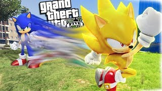 The Ultimate SUPER SONIC Hedgehog (GTA 5 Mods)