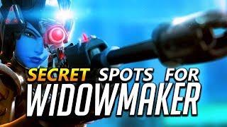 Widowmaker Tips - Secret Spots and Flanks