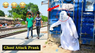 """Scary Ghost Attack Prank 