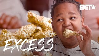 Pio's 24K Gold Chicken Wings! | Excess w/ Pio