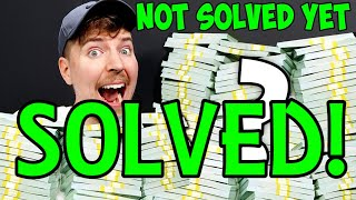 Mr Beast $100,000 Riddle SOLVED!! Steps 1 - 26