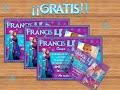 Invitacion Frozen Dinsey en color Guinda y azul, ¡Gratis!  ¡Gratis!  ¡Gratis!