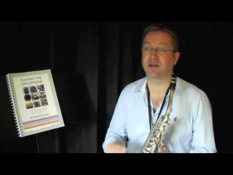 Rob Buckland - PLAYING THE SAXOPHONE: Video Tutorial on Harmonics