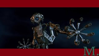 RED PLANET (2000): Military Killer Robot on Mars (AMEE: Autonomous Mapping Exploration & Evasion