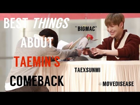 Best Things about Taemin's Comeback