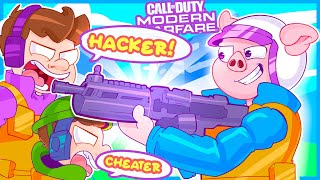 Modern Warfare but I make everyone angry and get called a hacker... *RAGE*