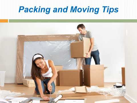 Kinds Of Services A Moving Company Offers