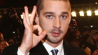 Shia LaBeouf Responds to Jim Carrey's Golden Globes Diss
