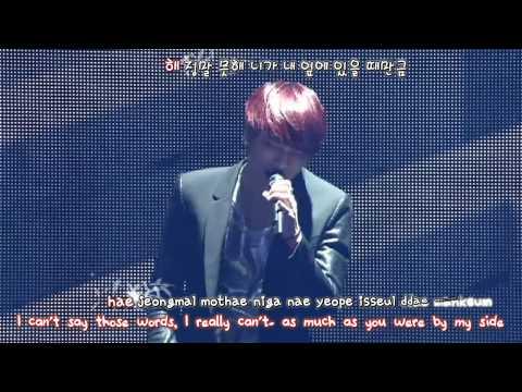 JYJ - In Heaven (2013 Concert in Tokyo Dome) [eng + rom + hangul + karaoke sub]