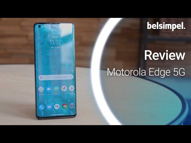 Belsimpel-productvideo voor de Motorola Edge Black