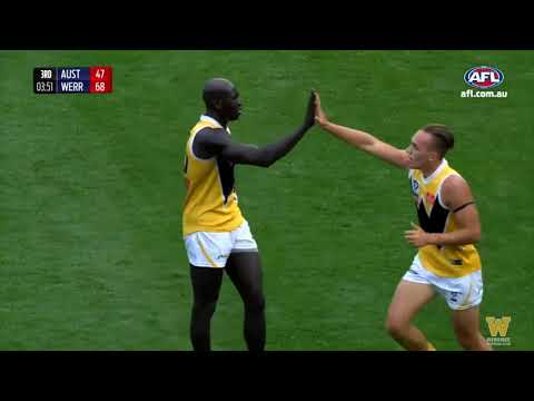 Flashback Friday: Werribee vs AFL Academy (2016)