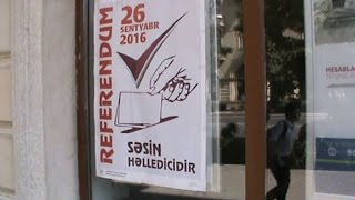 Опрос азербайджанцев о конституционном референдуме