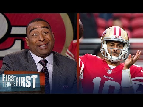 Cris Carter talks Jimmy Garoppolo's impact | FIRST THINGS FIRST