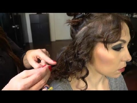how to style poofy hair how to layer curly hair without it poofy hair 3624