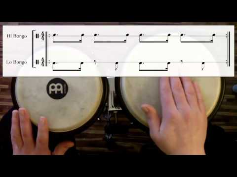 Samba vs. Rumba with Bongos (watch & learn)