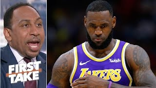 LeBron James is the Lakers' biggest problem – Stephen A. | First Take