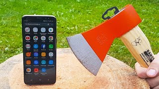 AXE vs SAMSUNG GALAXY S8 TEST