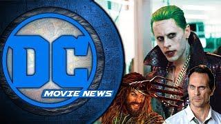 Joker Standalone with Leto? Aquaman Trailer Coming Soon, Todd Stashwick in Studio! - DC Movie News