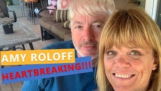 Little People, Big World : Amy Roloff Posts HEARTBRAKING About Fiancé Chris Marek And MOM!!!